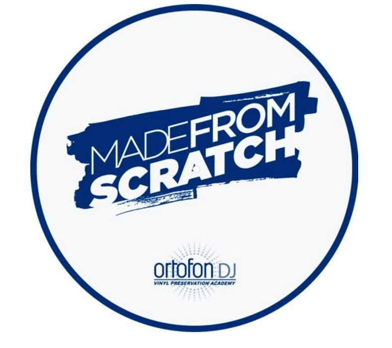 Ortofon new Made From Scratch slipmat